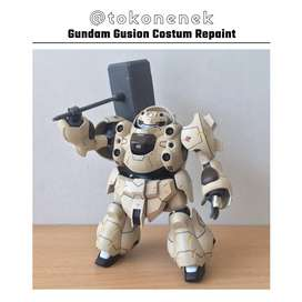 Model Kit Gundam Gusion Costum Repaint HG