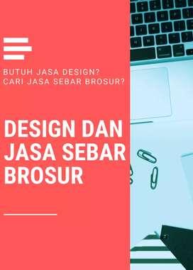 Jasa Sebar Brosur dan Design