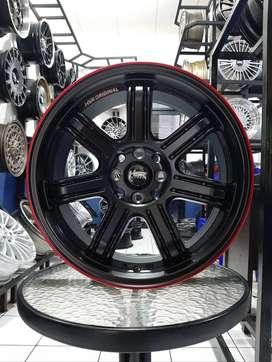 Velg Mobil Palang 7 Baut 4 Ring 17 HSR SIAK Lebar 7 - GRATIS ONGKIR