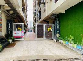 Live with natural amenities 3bhk flat ready to move