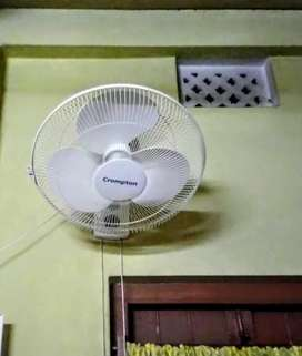 Crompton wall fan all new and working condition