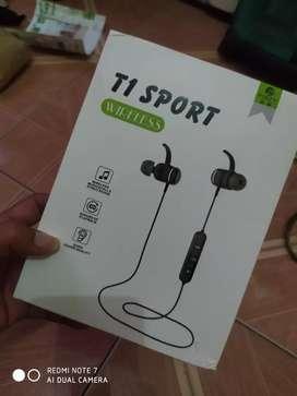 Headset Bluetooth  Magnetic PINZY Original T1 Sport