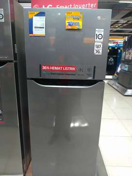 LG Small 2 Door Refrigerator GNB185