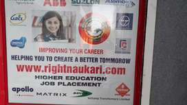 Required female candidate for Higher edu.  & Job consultant  nr.ONGC.