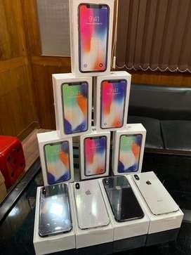 Apple iphone X 64gb brand new sealed pack 100 percent original guarant