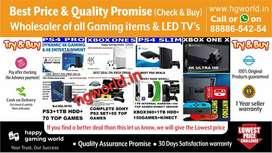 BestDeals Xbox360|1S|1X,PS2|ps3|ps4,Switch,VR-allGamingItems&LED TVs