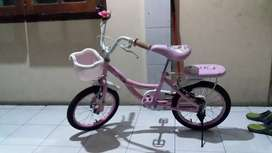 Sepeda Polygon tricycle Pink