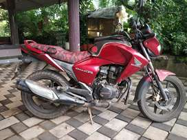 Honda CB Dazzler Red 2010 August model in Good Condition