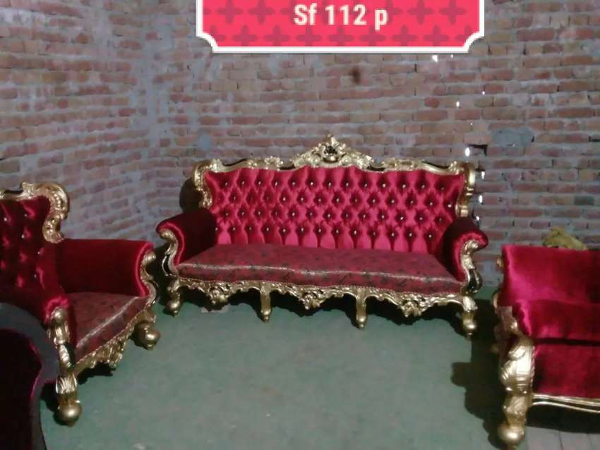 Sofa set Sheesham wood made different designs available 0