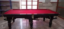 Snooker and pool table patti