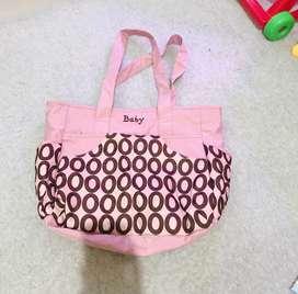 Tas bayi  warna pink