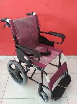 Kursi roda lipat travelling arjuna