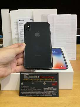 Dikami Bisa Cash/TT Iphone X 256GB Grey Second Ex Inter Original