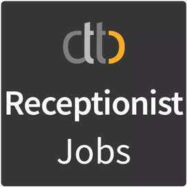 Urgently need Receptionist (front office executive) fixed salary