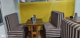 Sofa & tables ( 2 sofa's & 1 table=1 pair)
