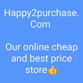 Online store sales- At very best price and quality
