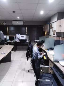 700 sqft Top Class, Modern Furnished Office In I.I Chundrigar Road