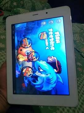 Tablet Advan ukuran 8inci lengkap case kulit pelindung