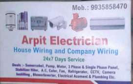 Electrician work home service