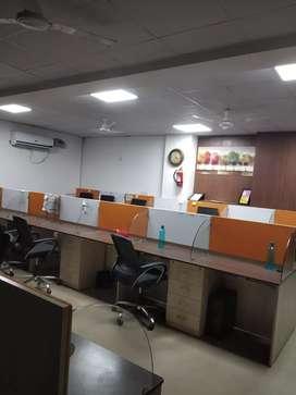 85 seat full furnished office in uttam nagar in95 k rs