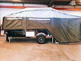 BRAND NEW OFF ROAD CAMPER TRAILER DUAL FOLD, FORWARD+REAR for Camping