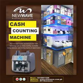 counting and fake note detecting machine,safe lockers,packet counters