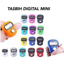 Alat Hitung Tasbih Digital Mini / Finger Counter / Counter Digital LED
