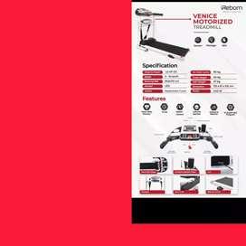 jual toko treadmill elektrik ireborn venice MG-11 alat fitnes