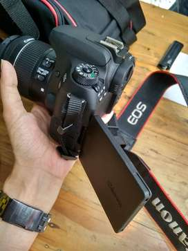 jual canon EOS 77D like new