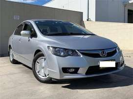 Honda Civic Hybrid ab finance karwayn asaan iqsaat main