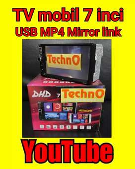 Tv Android sistim YouTube MP4 USB mirror link for sound audio arb