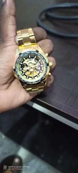 Machine genuine hand watch