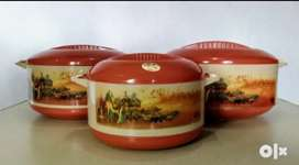 Royal Touch Casserole 3 Set New Condition