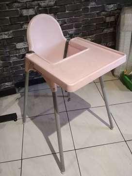 Kursi makan bayi - baby chair - Ikea Antilop
