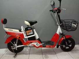 Sepeda Listrik INDOBIKE CHERRY Siap Pakai