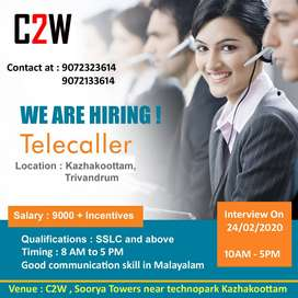 Urgently Wanted Telecallers