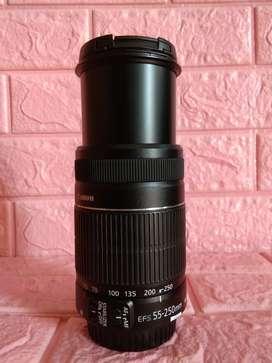 Lensa Tele 55 250mm IS II