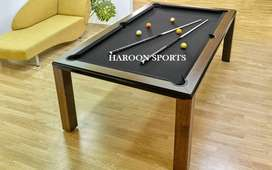 New Pool Table non Marble, Execellent Offer by HAROON SPORTS LAHORE
