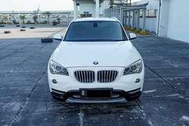 2014 BMW X1 2.0 MATIC Executive putih  Bensin Terawat TDP 62 JT