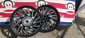 Royal enfield classic 350cc alloy Wheels Double disc