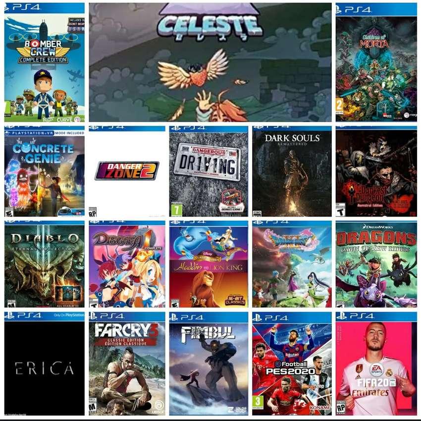 GAME PS 4 GAME KEKINIAN Bebas Pilih terjangkau harga murah meriah 0