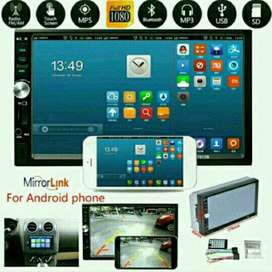 Double Din Mp5 7 Inch Mirorlink