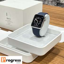 Apple Watch Series 1 42MM 316L Stainless Steel Band Navy Blue Mulus