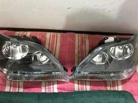 Headlight Toyota Harrier Gen 1 Black Housing