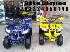 Sports Model BMW 125cc Atv Quad 4 Wheels Bike Deliver In All Pakistan