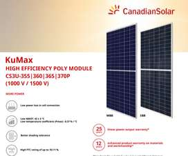 Solar Panal Canadian 360 Ply