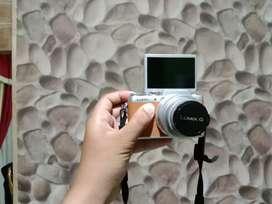 kamera mirroles panasonic lumix gf8, bisa nego