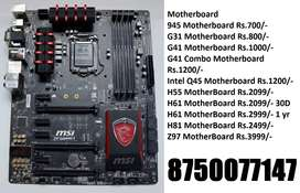 G31 G41 Combo Q45 945 AM3 + H55 H61 H81 Z97 COD Available