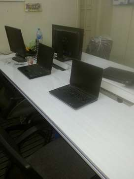 Call center,Co working office space seats in day,evening,night shifts