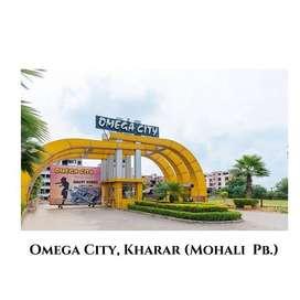 Omega City 2 BHK flat in Kharar